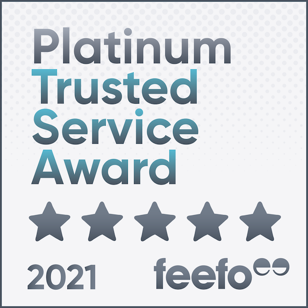 feefo platinum trusted service