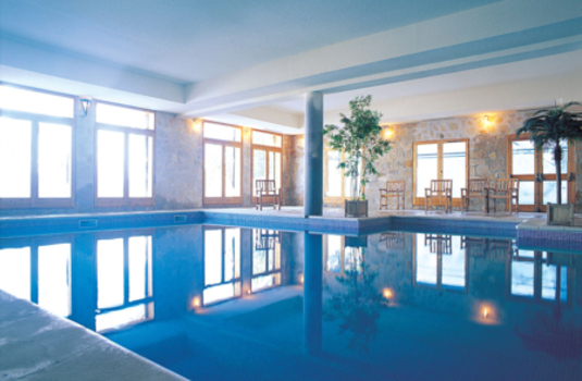 Resort carousel indoor pool at the altitude residence