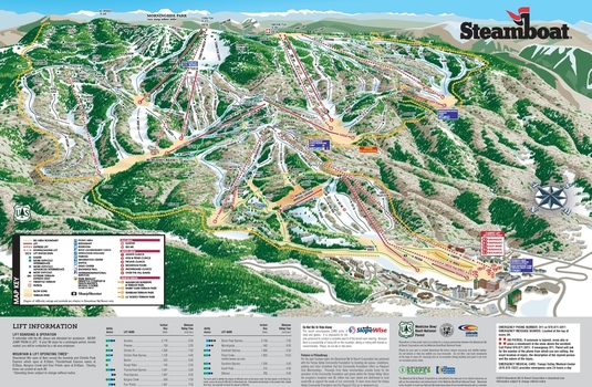 Steamboat Map