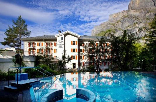 Resort carousel les sources des alpes ext 1
