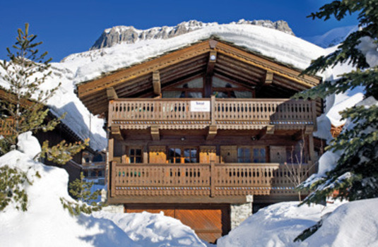 Chalet La Table in Val d-lsere France by day