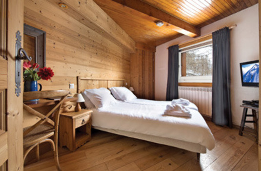 Chalet foxtrotdouble room in France