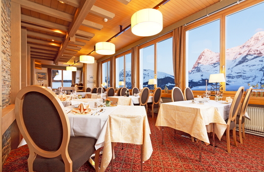 Resort carousel hotel eiger restaurant switzerland