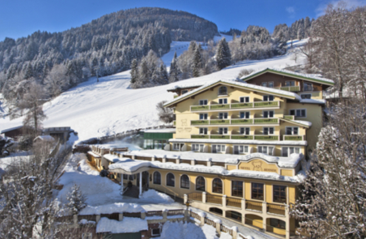 Hotel Berner by day in Zell am See Austria
