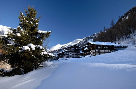 France Val-d'Isere in winter