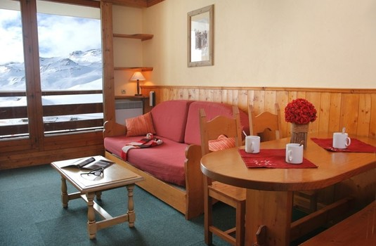 Le Cheval Blanc Apartments living in France Val Thorens