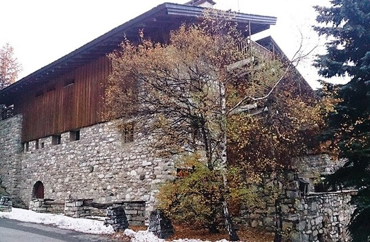 Exterior of Chalet Petite Bergerie in Val-d'Isere, France