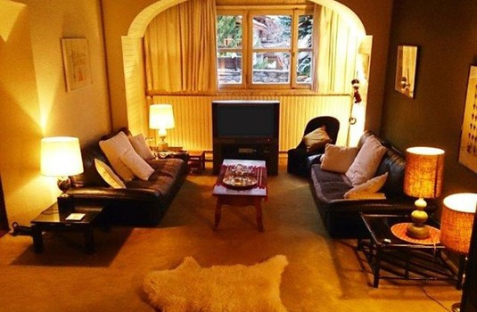 Chalet Petite Bergerie lounge in Val-d'Isere France