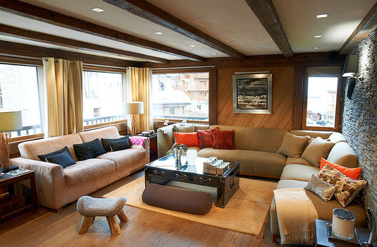 Lounge of The Epicea in Courchevel France