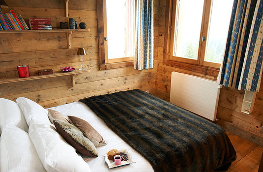 Double room of The Epicea Courchevel France