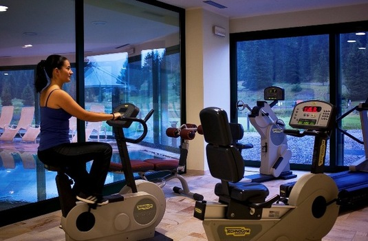 Resort carousel golf hotel campiglio fitness room