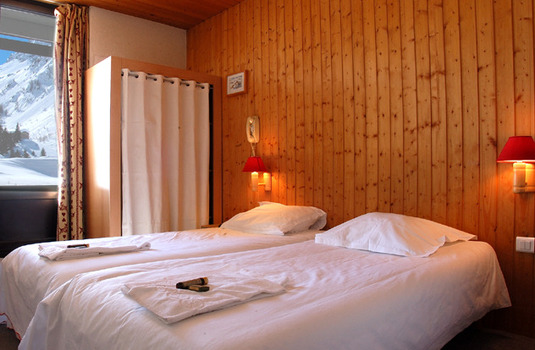 Chalet Hotel Chamois d'Or Val d'isere France Val-d'Isere twin room