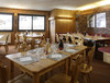Chalet Hotel Chamois d'Or Val d'isere France Val-d'Isere dining area