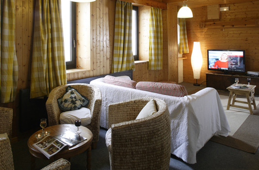 Chalet Hotel Chamois d'Or Val d'isere lounge