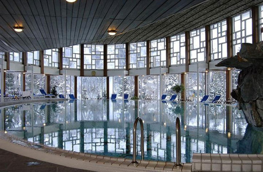 Resort carousel badrutt s palace indoor pool