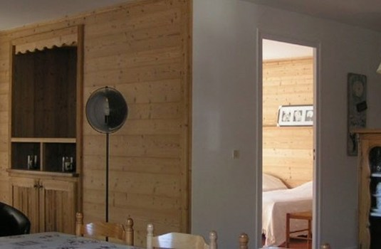 Chalet Les Danaides bedroom number 1 in Val d'Isere