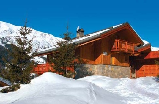 Chalet Le Cedre Blanc in the ski resort of Meribel, France
