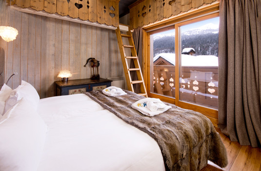 Chalet Brioche Bedroom