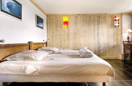 Chalet Petite Charline bedroom