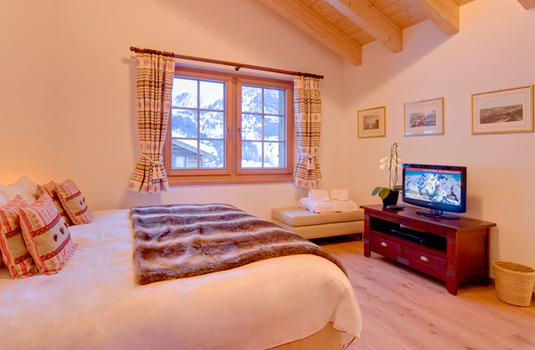 Chalet Ulysse bedroom