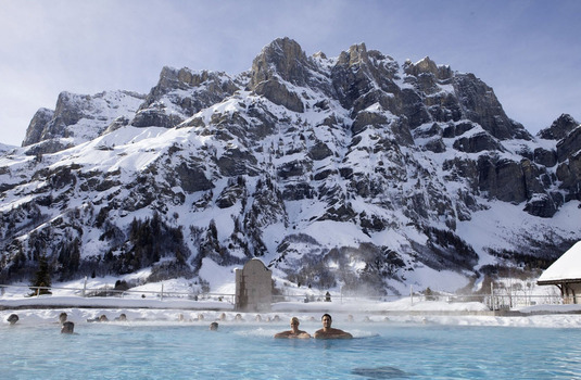 Leukerbad, Switzerland Thermal Baths