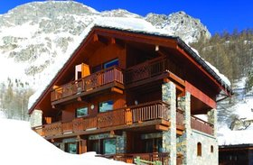 exterior of Le Bel Air in Val D'Isere