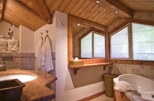 bathroom of the chalet chinchilla