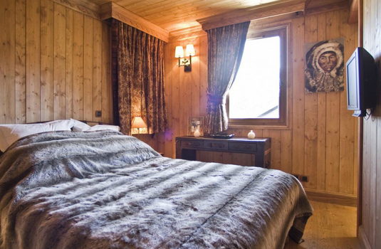 Bedroom of the Chalet Chinchilla
