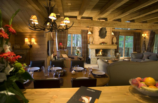 Dining room of the chalet chinchilla