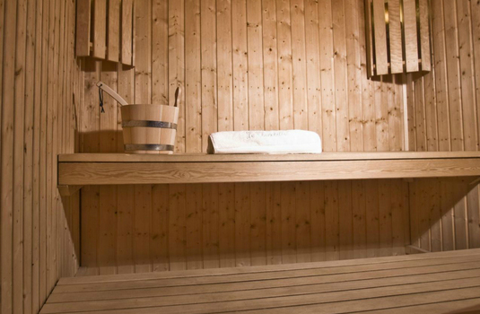 Sauna of the chalet chinchilla