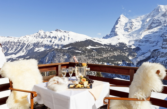 Resort carousel hotel eiger terrace switzerland