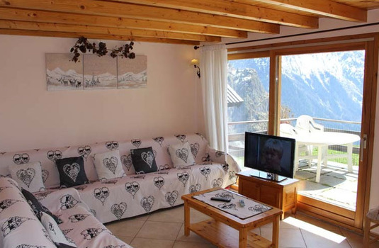 Lounge of the Gorges in Les Deux Alpes