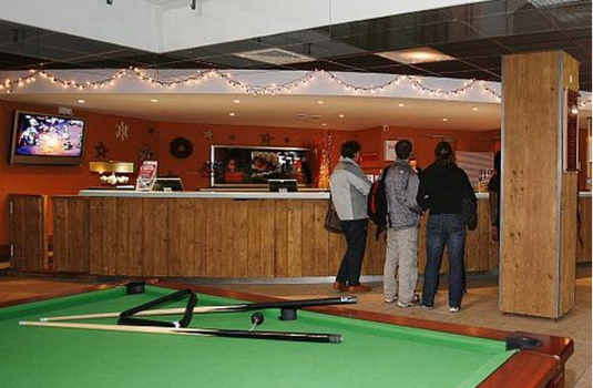 Resort carousel games room