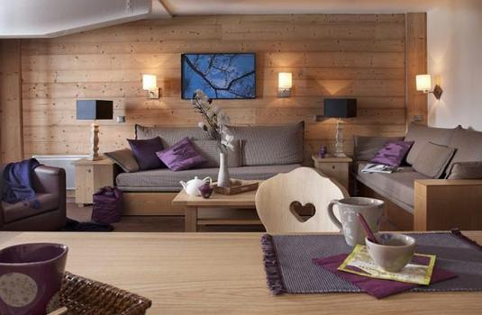 Les Chalets du Forum Living Room