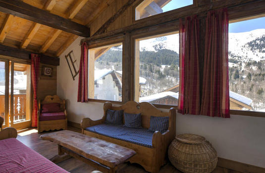 Chalet Marielle Meribel Sitting Room