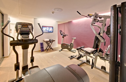 Resort carousel fitness centre