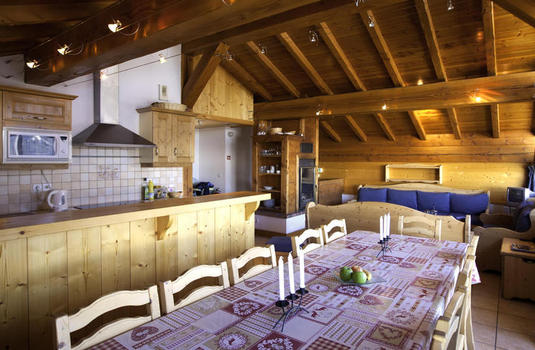 Chalet Chamois Les Arcs Dining