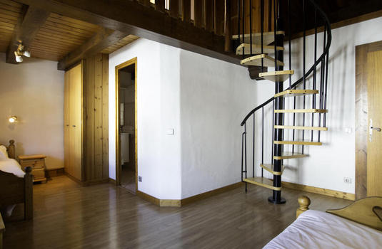 interior of Chalet Becoin