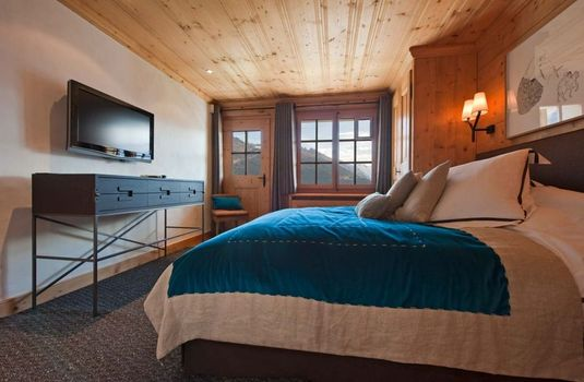 Resort carousel chalet tigre verbier bedroom