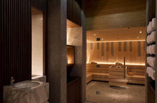 Resort carousel spa sauna