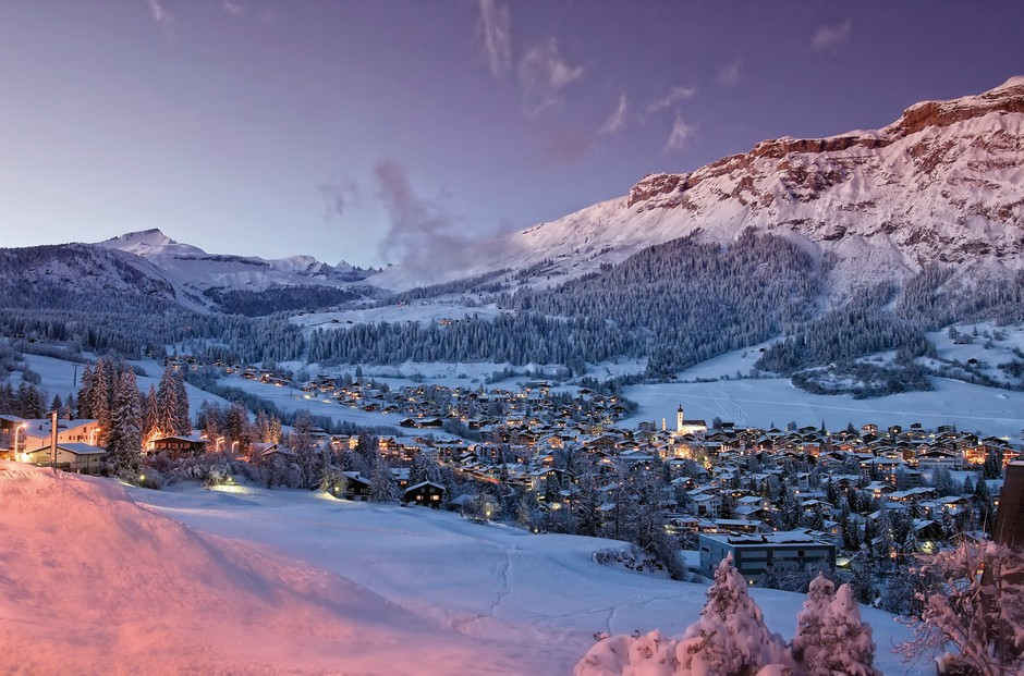 winter in flims