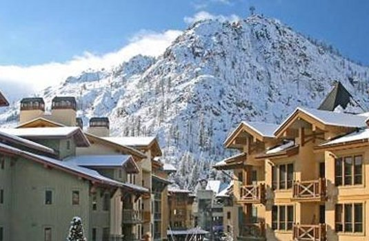 The village at Squaw Valley, California