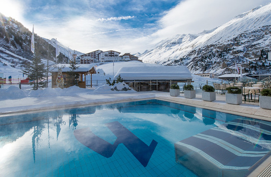 Hotel Hochfirst outdoor pool