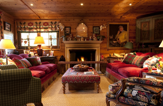 Chalet La Varappe Meribel Sitting Room