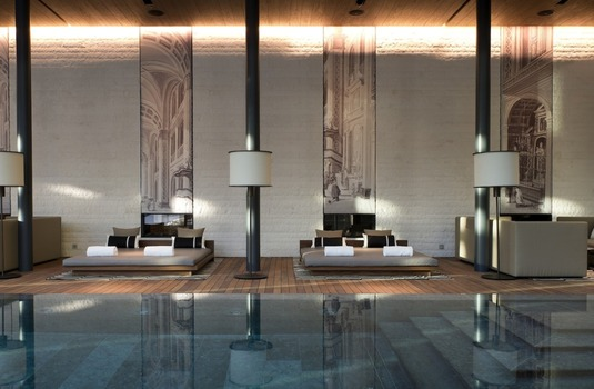 Resort carousel the chedi andermatt swimming pool