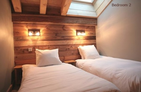 Chalet Bozzetto Val D'Isere Twin room