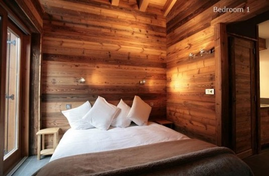 Chalet Bozzetto Val D'Isere Double bedroom