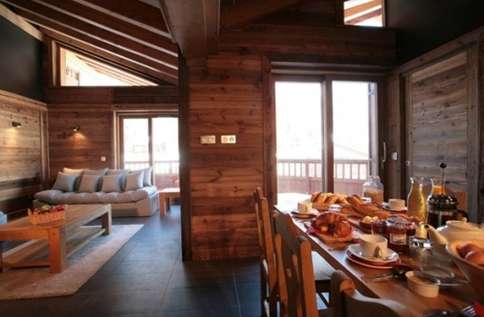 Chalet Bozzetto Val D'Isere Lounge/Dining room