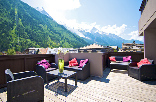 Resort carousel le morgane chamonix prestige mountain view