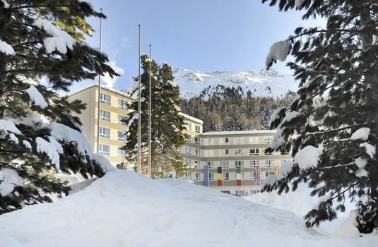 Resort carousel club med st moritz exterior day